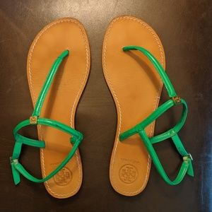 Tory Burch Alfie Thong leather sandal